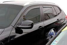 DBM11146  BMW X1 5 DOOR  2009- 2015   wind deflectors 4pc set TINTED HEKO