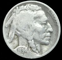 1934 D, Buffalo Nickel, Good Condition, Free Shipping, Buy 4 Get $5 Off, C4216