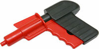 Children's Classic Red & Black Potato Spud Gun Toy Pellet Gift Target Game