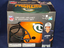 GREEN BAY PACKERS Halloween Costume - KIDS Medium DELUXE YOUTH UNIFORM SET
