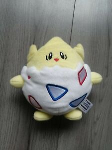 Pokemon Togepi Tomy 2017 Officially Licensed Plush Nintendo - Great Condition