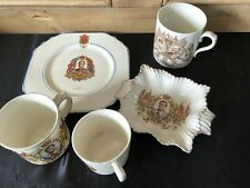 Royal Doulton Commemorative Coronation Cup And Other Commemorative Ware