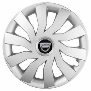 15'' Wheel trims for DACIA SANDERO - silver 4x15''