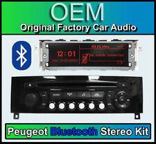Peugeot 308 Bluetooth stereo, Peugeot AUX USB radio, LCD Screen Microphone BLACK