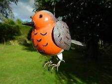 Robin Bird Tea light Candle Holder Metal Hanging Lantern - Robin