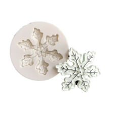 Christmas Snowflake Silicone Mold Fondant Mold Chocolate Mould Xmas Cake DecorYR