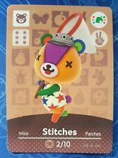 Stitches Animal Crossing Amiibo Card Single - Amiibo Festival Near Mint US