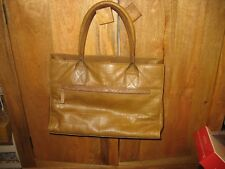 Ladies Brown Leather Jones Bag