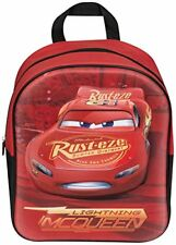 Lightning Mcqueen Official Cars 3 Backpack Back Pack 3D EVA School Bag - Perfect