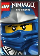 Lego Ninjago Masters Of Spinjitzu (2014, DVD New)