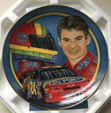 "1997 Jeff Gordon Shades Of Winner Plate Hamilton Collection 6.5"""