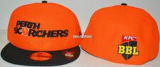 Perth Scorchers 2015/16 59FIFTY New Era Cap BBL Big Bash Hat Cricket - Size: 7