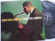 "Sonny Rollins Trio_Original 60's_Sealed_Sonny Rollins ""Brass"" Mono Lp_Ex+"