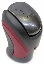 NISMO GT-R R35 SHIFTER SHIFT GEAR KNOB RED BLACK LEATHER for NISSAN OEM