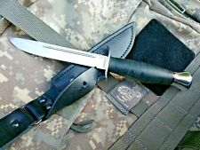 RUSSIAN Handmade Tactical NKVD (KGB) Knife Finka 2 made by A&R Stainless Leather