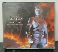 MICHAEL JACKSON ~ HIStory Past Present & Future Book 1 ~ 2 x CD ALBUM