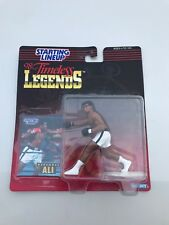 1998 Boxing Timeless Legends Starting Lineup Muhammad Ali WHITE Shorts NEW