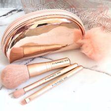 MAC Snow Ball Brush Kit / Mini Brush Bag 560SE 535SE 421SE NEW IN BOX AUTHENTIC