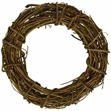 Wreaths Bulk Buy: DIY Crafts Grapevine Wreath Natural Inches (6-Pack) GPV8