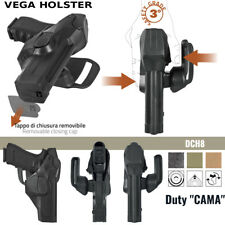 Fondina Vega Holster polimero duty cama DCH809 per glock 19 23 25 32 38 vari col