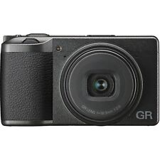 Ricoh GR III Digital Compact Camera, 24MP, 28mm f 2.8 lens w/ Touch Screen LCD