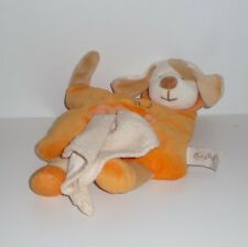 Doudou Chien Babynat Baby Nat' - Orange