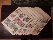 18 1943 PRINCE VALIANT full newspaper pages