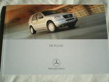 Mercedes M Class brochure May 2000