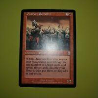 Dwarven Recruiter x1 - Odyssey - Magic the Gathering MTG 1x