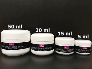 UV/LED Gel French SOFT Ultra White Pro Quality made in Germany, EU Seller