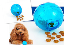 Pet Puppy Interactive Food Puzzle Toy Small Dog Chew Play Fun Snack Treats Ball