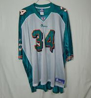 Ricky Williams Miami Dolphins NFL Football Jersey Reebok Size 5XL Mens Clothing