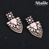 Pendientes Moda Mujer Joya Rosa Elegante Tendencia ZA Accesorio Regalo ideal