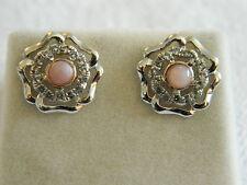 Clogau Silver & 9ct Welsh Gold Tudor Rose Stud Earrings RRP £129.00