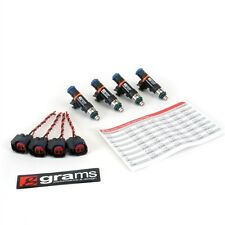 GRAMS 550CC FUEL INJECTOR SET FOR 02-16 SUBARU EJ205/EJ207/EJ255/EJ257 TOP FEED