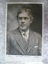 1904 Postcard- MR. GEORGE ALEXANDER