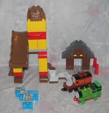 Mega Blok Thomas Train Set - Percy's Brave Tale - Missing Track, Pieces - Marion