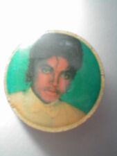 "1982 Original Michael Jackson Photo 1"" Enamel Lapel Pin/Pinback"
