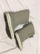 KEDS WOMEN'S Duck Boots Rain Boots WINTER SNOW BOOTS, Gray Size 6