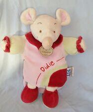 Doudou Marionnette Velours Souris Mouse Doudou et Compagnie  (28cm) TBE