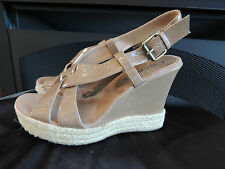 Womens Size 10  * COCONUTS * NEW Orlando Platform Wedge Sandals Shoes