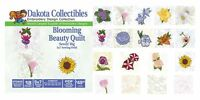 Dakota Collectibles Embroidery Machine Design CD - Blooming Beauty Quilt 970442