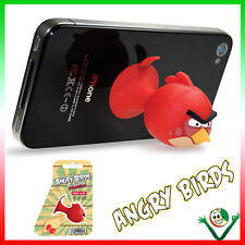 Mini stand supporto ANGRY BIRDS silicone iPhone 6 6S 5S 4S SE iPod Touch 5 GEAR4
