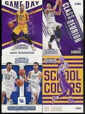 2016-17 PANINI CONTENDERS DRAFT PICKS BASKETBALL 4 INSERT CARD SETS (80 CARDS)