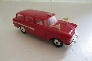 NOREV ANCIEN N°41 SIMCA MARLY AMBULANCE ROUGE