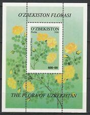 Uzbekistan 2006 Flowers MNH Block