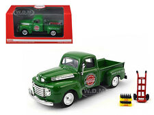1948 FORD PICKUP TRUCK GREEN COCA COLA WITH ACCESSORIES 1/43 BY MCC 467431