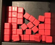 Bloxels Build Your Own Video Game REPLACEMENT BLOX Blocks 40 blocks RED