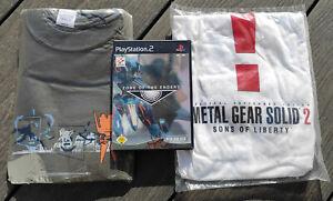 Zone of the Enders mit Metal Gear Solid 2 Demo + ZoE Shirt + MGS2 Shirt, wie neu