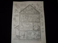 * Tri Chem 8374 Miniature Play House 3-D Picture to paint Trichem